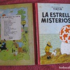 Comics: TINTIN. LA ESTRELLA MISTERIOSA. EDITORIAL JUVENTUD 2ª EDICIUON 1964.. Lote 218532895
