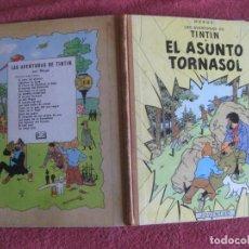 Comics: TINTIN. EL ASUNTO TORNASOL. EDITORIAL JUVENTUD SEGUNDA EDICION 1965.. Lote 218533468