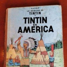 Cómics: TINTIN EN AMERICA ED. JUVENTUD 1ª EDICION DE 1968. Lote 218603505