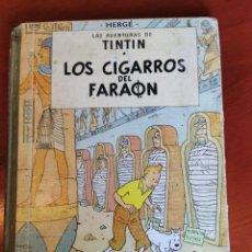 Cómics: LOS CIGARROS DEL FARAÓN LAS AVENTURAS DE TINTÍN HERGÉ EDITORIAL JUVENTUD AÑO 1968. Lote 218605703