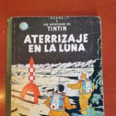 Cómics: TINTÍN ATERRIZAJE EN LA LUNA - CUARTA EDICIÓN - CON LOMO DE TELA - AÑO 1967 JUVENTUD. Lote 218606117