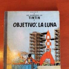 Cómics: LAS AVENTURAS DE TINTIN - OBJETIVO LA LUNA/HERGE - CUARTA EDICION - JUVENTUD 1967.. Lote 218606723