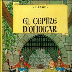 Comics: HERGE - TINTIN - EL CEPTRE D OTTOKAR - ED. JOVENTUT 1988 9ª EDICIÓ - AMB ERRATA A COBERTA SENSE NOM. Lote 218739805