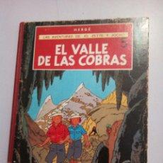 Cómics: HERGÉ * PRIMERA EDICIÓN * 1972* LAS AVENTURAS DE JO ,ZETTE Y JOCKO* LOMO ROJO. Lote 218843893