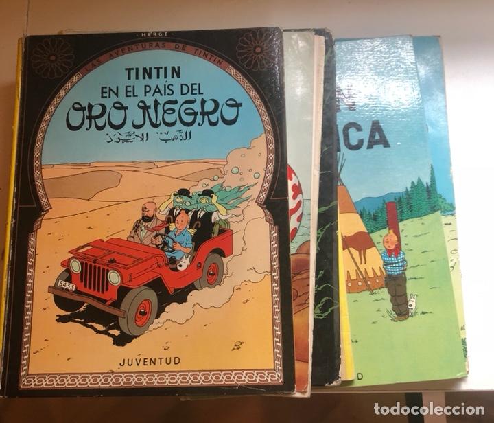 LOTE DE TEBEOS DE TINTÍN (Tebeos y Comics - Juventud - Tintín)