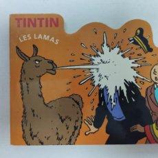 Cómics: TINTIN - LES LAMAS - ESCENA DE TINTIN (EL TEMPO DEL SOL) EN FRANCES - HERGUÉ / MOULINSART 2006. Lote 219556931