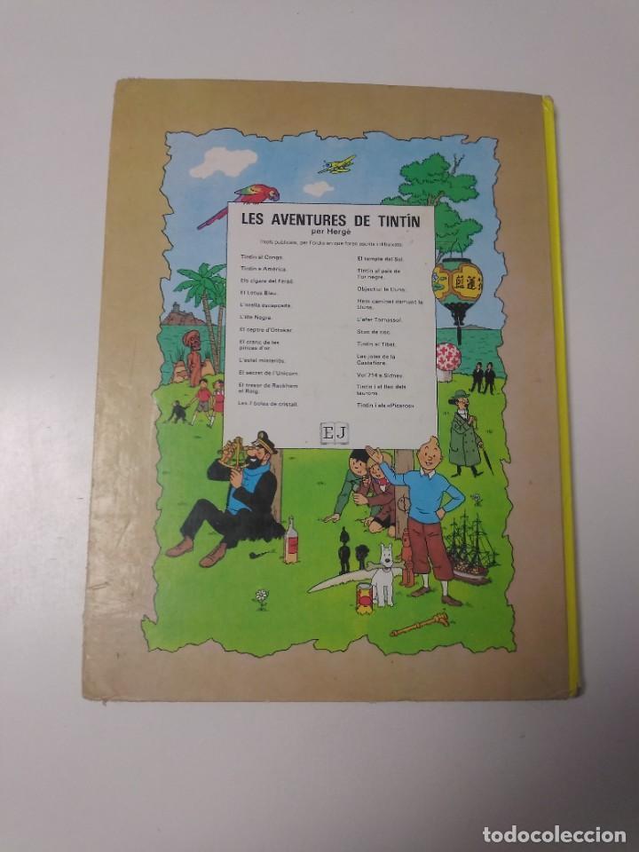 Cómics: Tintín El Tresor de Rackham el Rojo Tapa Dura Editorial Joventut Setena Edición 1984 - Foto 2 - 219647806
