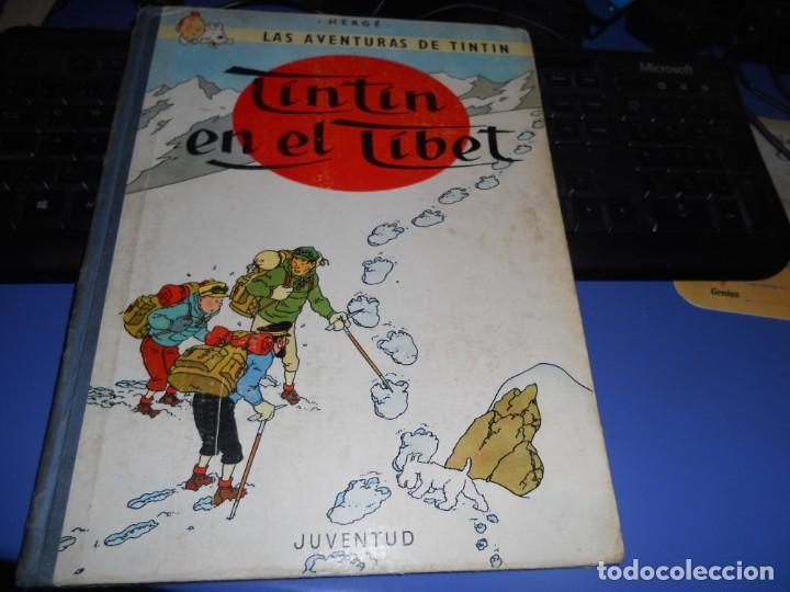 TINTIN EN EL TIBET EDICION 1965 BUEN ESTADO (Tebeos y Comics - Juventud - Tintín)