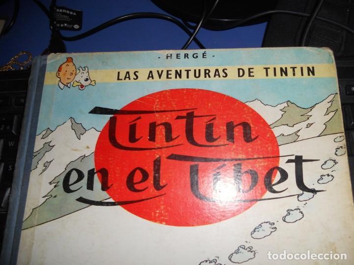 Cómics: tintin en el tibet edicion 1965 buen estado - Foto 2 - 219647998