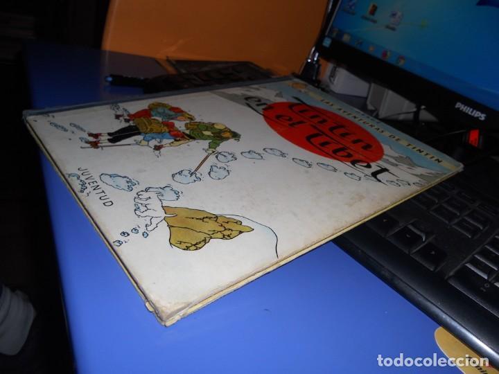 Cómics: tintin en el tibet edicion 1965 buen estado - Foto 4 - 219647998