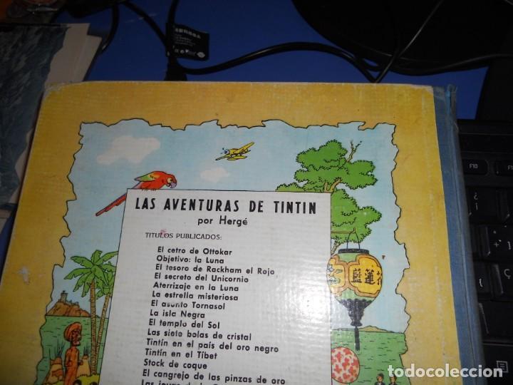 Cómics: tintin en el tibet edicion 1965 buen estado - Foto 6 - 219647998