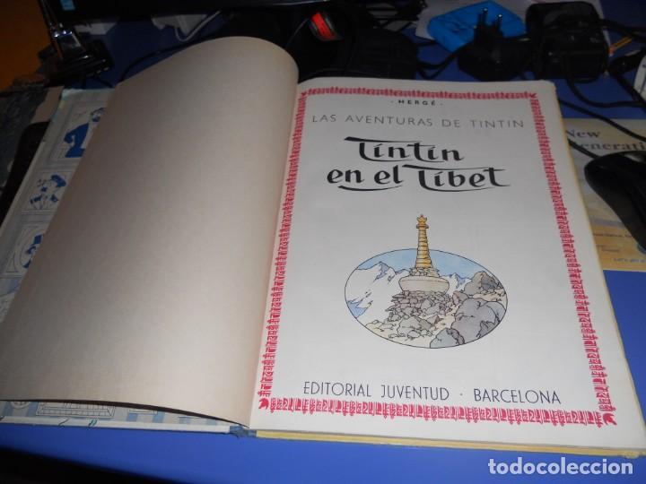 Cómics: tintin en el tibet edicion 1965 buen estado - Foto 11 - 219647998