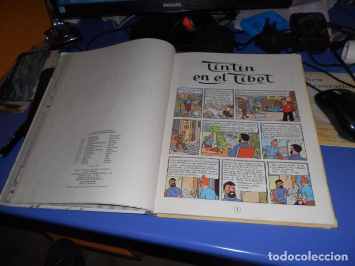 Cómics: tintin en el tibet edicion 1965 buen estado - Foto 13 - 219647998