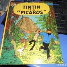 Cómics: TINTIN I ELS PICAROS SEGUNDA EDICION 1980 CATALAN JUVENTUD BUEN ESTADO. Lote 219657218