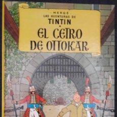Fumetti: TINTIN EL CETRO DE OTTOKAR EDICION 17 AÑO 1996 JOVENTUD. Lote 219717387