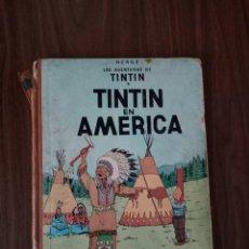 Cómics: TINTÍN EN AMÉRICA - PRIMERA EDICIÓN 1968. Lote 219969070
