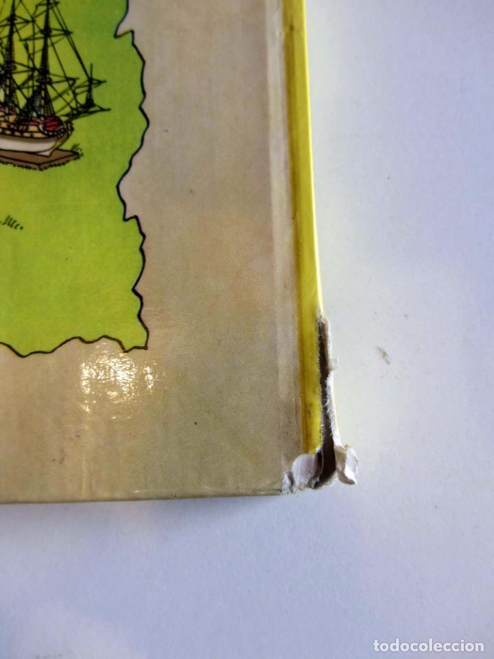 Cómics: Castafioreren bitxiak. Tintinen abenturak. Hergé Segunda edición 1988 Tintin en euskera vasco. Elkar - Foto 3 - 220073071