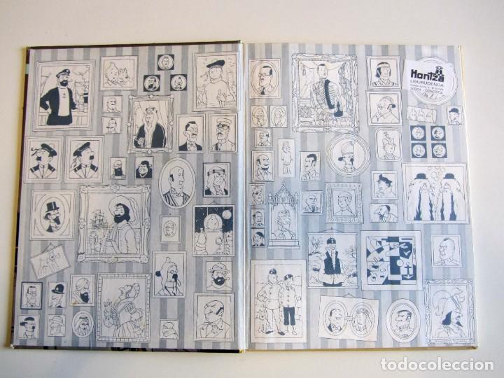 Cómics: Castafioreren bitxiak. Tintinen abenturak. Hergé Segunda edición 1988 Tintin en euskera vasco. Elkar - Foto 6 - 220073071