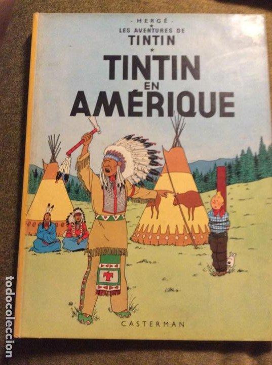 TINTIN EN AMÈRIQUE. ED. CASTERMAN. 1ª ED EN FRANCÉS 1947. (Tebeos y Comics - Juventud - Tintín)