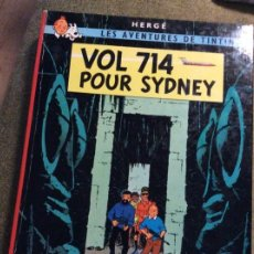 Cómics: TINTIN. VOL 714 POUR SIDNEY. ED. CASTERMAN. 1ª ED EN FRANCÉS 1968. Lote 220109658