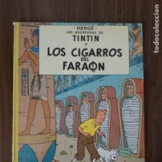 Cómics: TINTÍN. LOS CIGARROS DEL FARAÓN (TAPA BLANDA). Lote 244426200