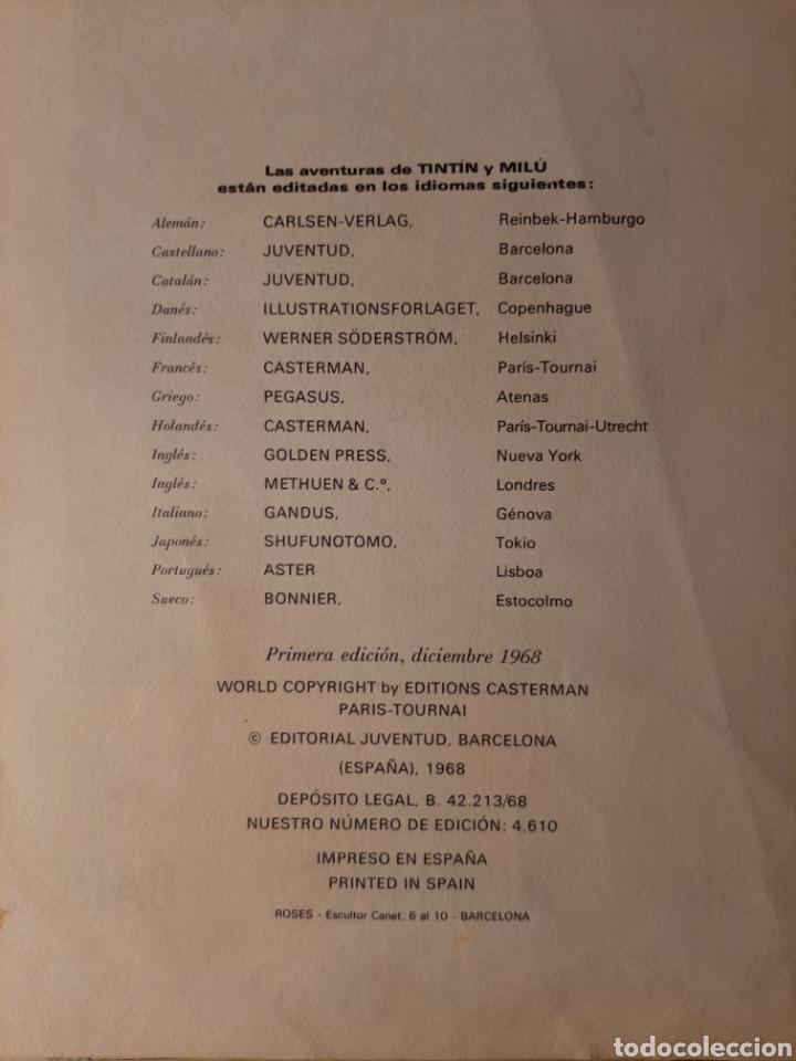 Cómics: TINTÍN EN EL CONGO - HERGÉ - JUVENTUD - PRIMERA EDICIÓN - 1968 - Foto 3 - 220302492