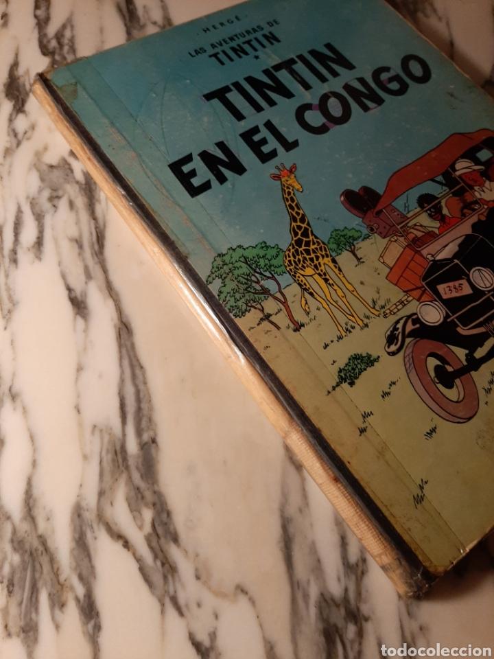 Cómics: TINTÍN EN EL CONGO - HERGÉ - JUVENTUD - PRIMERA EDICIÓN - 1968 - Foto 5 - 220302492