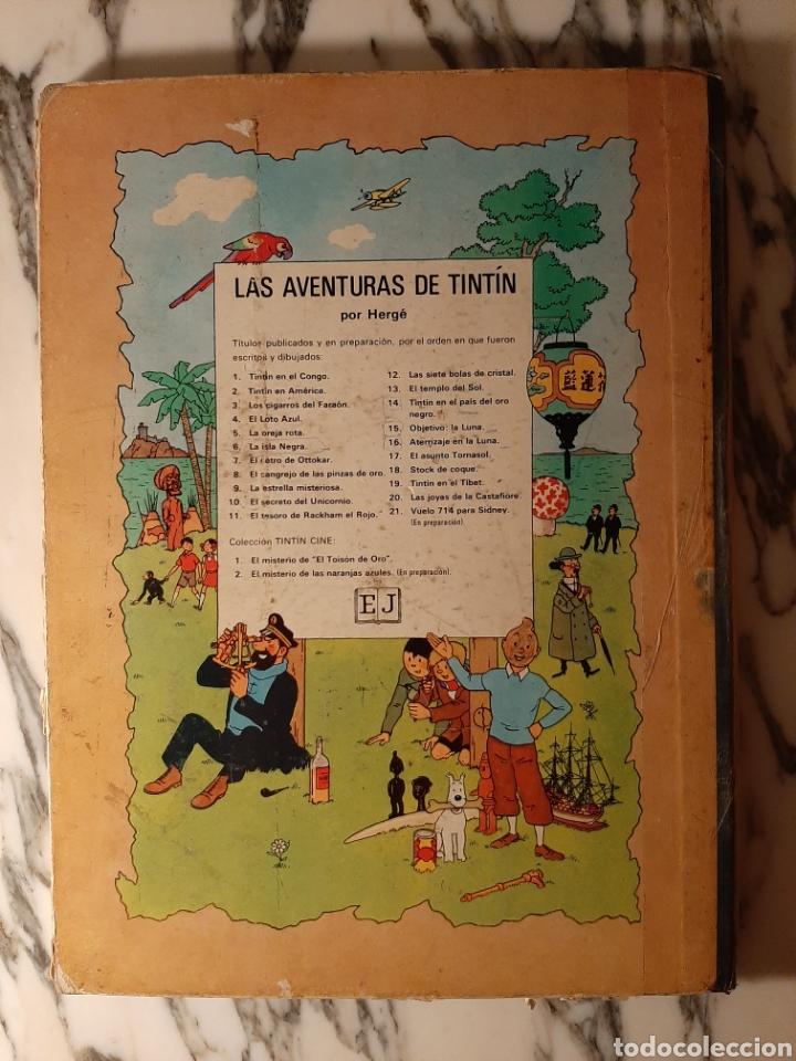 Cómics: TINTÍN EN EL CONGO - HERGÉ - JUVENTUD - PRIMERA EDICIÓN - 1968 - Foto 6 - 220302492