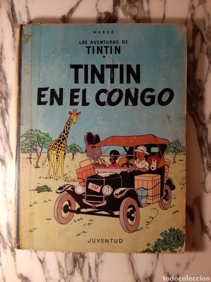 TINTÍN EN EL CONGO - HERGÉ - JUVENTUD - PRIMERA EDICIÓN - 1968 (Tebeos y Comics - Juventud - Tintín)