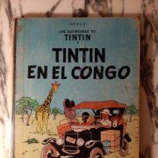 Cómics: TINTÍN EN EL CONGO - HERGÉ - JUVENTUD - PRIMERA EDICIÓN - 1968. Lote 220302492