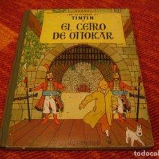 Cómics: LAS AVENTURAS DE TINTÍN EL CETRO DE OTTOKAR JUVENTUD HERGÉ SEGUNDA EDICIÓN 1964 LLO. Lote 220387761