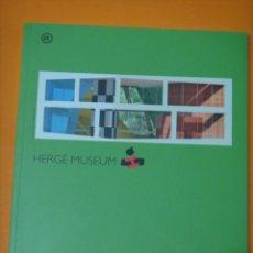 Cómics: CATALOGO MUSEO HERGE TINTIN EN INGLES .. Lote 220942106