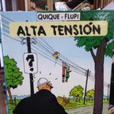 Cómics: ALTA TENSIÓN-QUIQUE Y FLUPI-JUVENTUD,1991,EDICIÓN HERGE,1°EDICIÓN. Lote 220974457