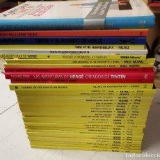 Cómics: TINTIN / COLECCIÓN COMPLETA 23 NÚMEROS + 12 LIBROS / HERGÉ / ED. JUVENTUD - VER FOTOS Y DESCRIPCIÓN. Lote 221085882