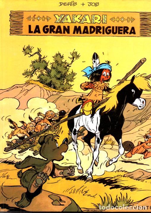 YAKARI Nº 10 - LA GRAN MADRIGUERA (JUVENTUD, 1988) (Tebeos y Comics - Juventud - Otros)