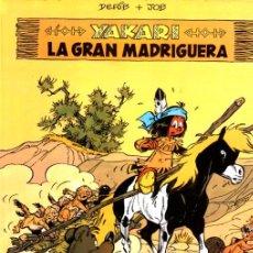 Cómics: YAKARI Nº 10 - LA GRAN MADRIGUERA (JUVENTUD, 1988). Lote 221334848