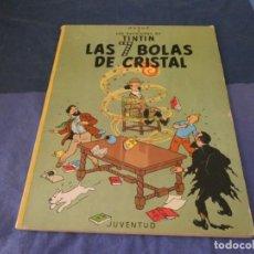 Cómics: TINTIN LAS SIETE BOLAS DE CRISTAL TAPA BLANDA 1978. Lote 221355676