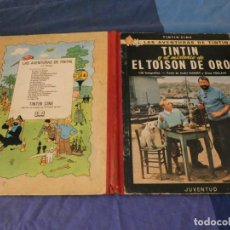 Comics : TINTIN ESTADO ACEPTABLE EL TOISON DE ORO PRIMERA EDICION 1968. Lote 221355988