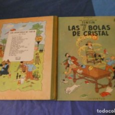Comics : TINTIN ESTADO ACEPTABLE LAS SIETE BOLAS DE CRISTAL ENERO 1967. Lote 221356683