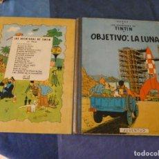 Comics : TINTIN ESTADO CORRECTO OBJETIVO LA LUNA SEGUNDA EDICION ABRIL 1964. Lote 221357722