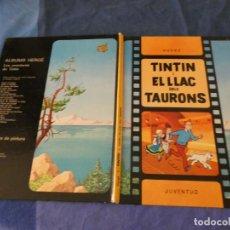Cómics: TINTIN ESTADO MUY CORRECTA 2A ED CATALAN LLAC TAURONS 1988. Lote 221358293