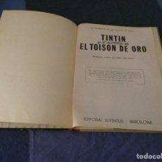 Comics : TINTIN Y EL MISMOTERIO DE EL TOISON DE ORO PRIMERA EDICION MARZO DE 1968 ESTADO CORRECTO. Lote 221361745