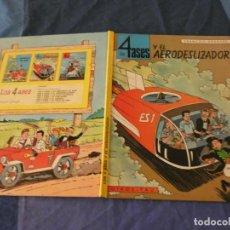 Comics : PRECIOSO COMIC FRANCO BELGA LOS CUATRO ASES EN OIKOS TAU 1968 ESCRITOS EN DOS PAGINAS DE CORTESIA. Lote 221362728