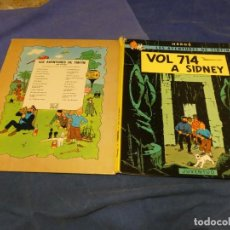 Cómics: TINTIN VOL 714 A SIDNEY TERCERA EDICIO CATALANA 1978 UN PICO DEL LOMO A REPEGAR. Lote 221382546