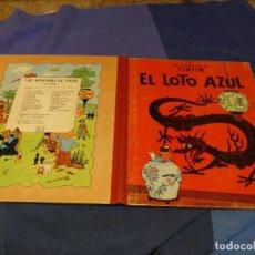 Comics : TINTIN Y EL LOTO AZUL TERCERA EDICION 1970 PRECIOSO TIENE UN NOMBRE A BOLI. Lote 221382683