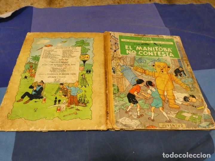 AVENTURAS DE JO ZETTE Y JOCKO MANITOBA NO CONTESTA 1 ED 1971 TAPAS Y PAGINAS CORTESIA MAL, RESTO OK (Tebeos y Comics - Juventud - Tintín)