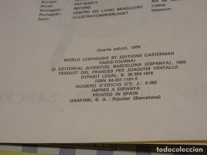 Cómics: TINTIN LA ORELLA ESCAPÇADA CUARTA EDICION 1979 BUEN ESTADO CATALAN - Foto 2 - 221385486
