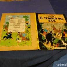 Cómics: TINTIN Y EL TEMPLO DEL SOL CUARTA EDICION 1975 BUEN ESTADO. Lote 221385598