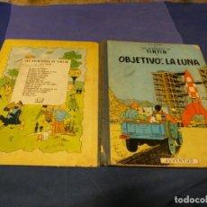 Cómics: TINTIN EN LA LUNA 1965 ALGUNAS MACHAS DE OXIDO UNA LINEA DE BOLI EN PRIMERA PAGINA. Lote 221385768