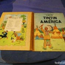 Comics : TINTIN EN AMERICA SEGUNDA EDICION 1969 ESTADO MUY CORRECTO. Lote 221385923